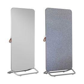 Cameleon Mobile pinboard grijs