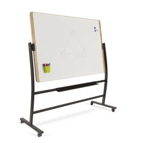 Rocada Natural whiteboard verrijdbaar
