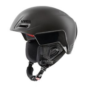 UVEX Jimm Octo+ skihelm - Mat zwart - S - 52-55 cm