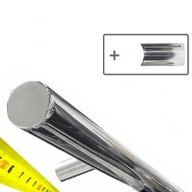 RVS design trapleuning op maat - Gepolijst