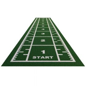 Sprinttrack Premium (kunstgras) - 10 x 2 m - Groen