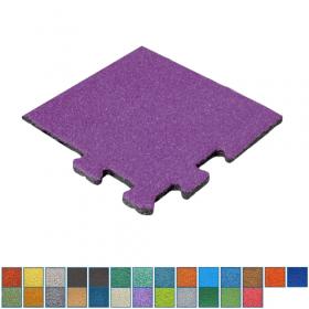 hoekstuk rubber epdm tegel in RAL kleuren - 50 mm