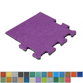 gekleurde rubber kliktegel - 50 mm