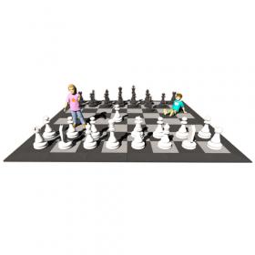 XXL schaakspel