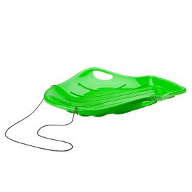 XL schelp slee groen - 94x70 cm