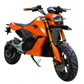 Sportieve elektrische scooter met Supermotard design