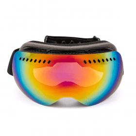 skibril met spiegelglas