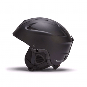 zwarte skihelm
