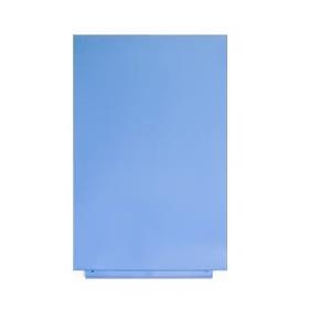 Skin whiteboard blauw ral 630