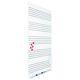 Skin Whiteboard 75x115 cm - Muziek