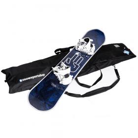 Snowboardtas zwart