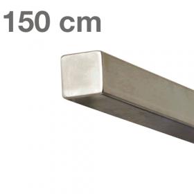 RVS Vierkante Trapleuning 150 cm