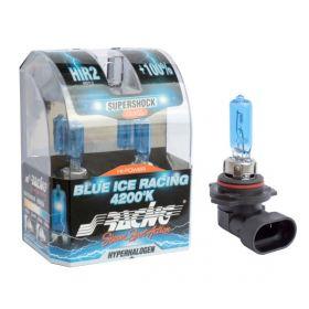 Xenonlook lampen Halogeen 'Blue Ice Racing' HIR2 (4200K) 12V/55W, set à 2 stuks ECE-R37