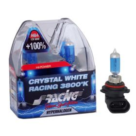 Xenonlook lampen Halogeen 'Blue Ice Racing' HB4 (4200K) 12V/55W, set à 2 stuks ECE-R37