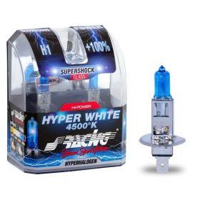 Xenonlooklampen Halogeen 'Blue Ice Racing' H1 (4200K) 12V/55W, set à 2 stuks ECE-R37
