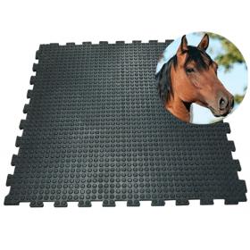 Stalmat 100 x 100 cm - 16 mm - Puzzelsysteem *OUTLET*