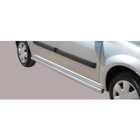 Sidebars Dacia Logan 63mm