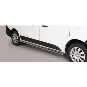 Sidebars Nissan NV 300 SWB 2017 - Ovaal