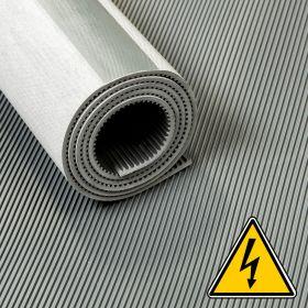 VDE loper / hoogspanningsloper / isolatiemat - 3 mm 30 Kv - Breedte 100 cm - Per strekkende meter