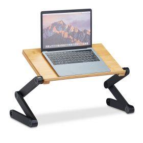 Verstelbare laptoptafel bed/bank bamboe