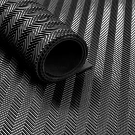 rubber op rol visgraat