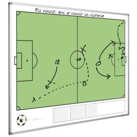 Whiteboard met voetbalveld - 90 x 120 cm