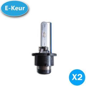 xenon lampen D2R 25% UP 5000K E-Keur
