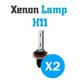 Xenon Lampen H11 - SET