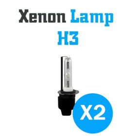 Xenon Lampen H3 - SET