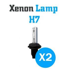 Xenon Lampen H7 - SET
