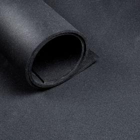 Sportvloer - Rol van 12,5 m2 - Dikte 8 mm - Zwart