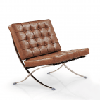 Barcelona Chair - Vintage brown