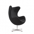 Egg Chair Zwart
