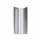 RVS design trapleuning houder - Geborsteld - 2 stuks