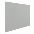 Whiteboard zonder rand - 45x60 cm - Grijs
