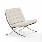 Barcelona Chair - Wit