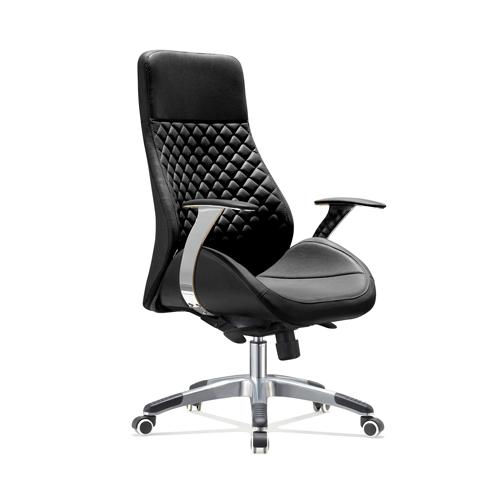 Bureaustoel Zwart Design.Bureaustoel Bologna Zwart