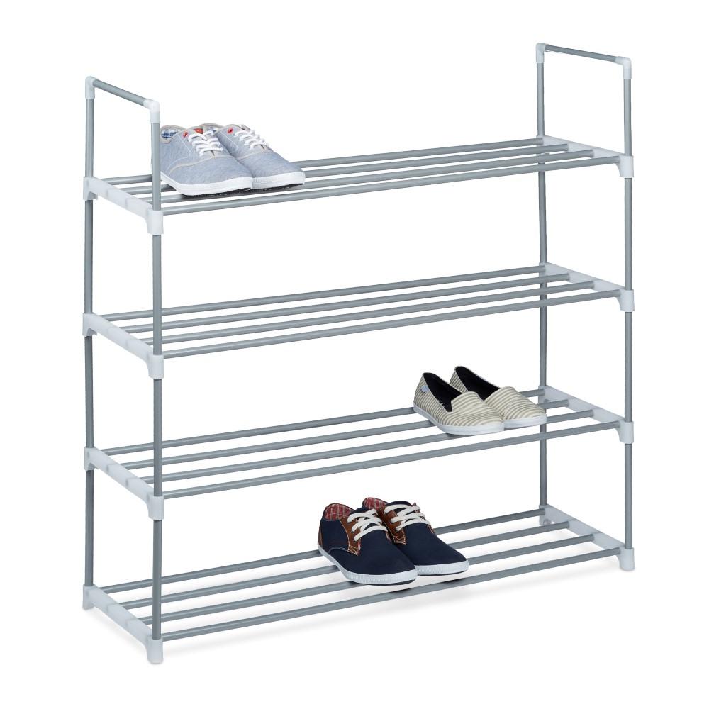 Schoenenkast Voor 16 Paar Schoenen.Aanbieding Vidaxl Schoenenrek Voor Aan De Deur 18 Paar Schoenen